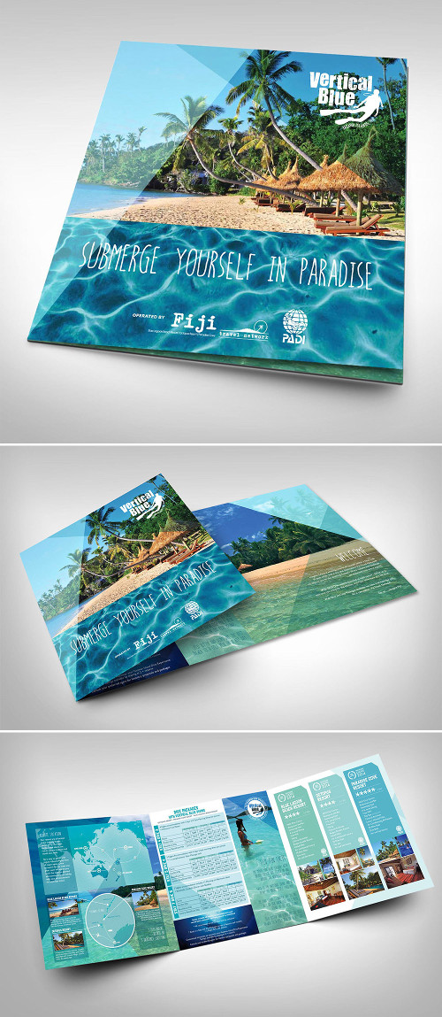 Ottavo esempio di brochure turistica o di viaggi