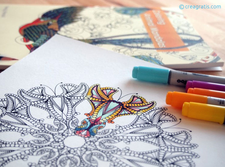 Siti con disegni da colorare per adulti