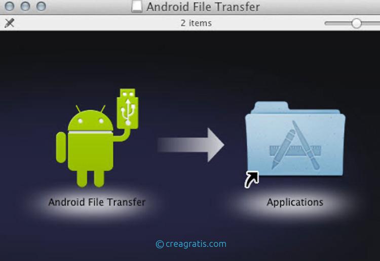Trasferimento File Android Mac