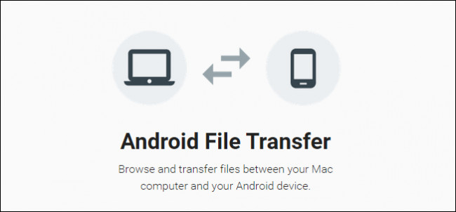 Immagine dell'app Android File Transfer