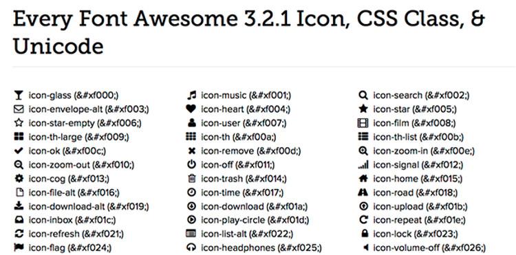 Immagine del sito Font Awesome per scaricare font gratis