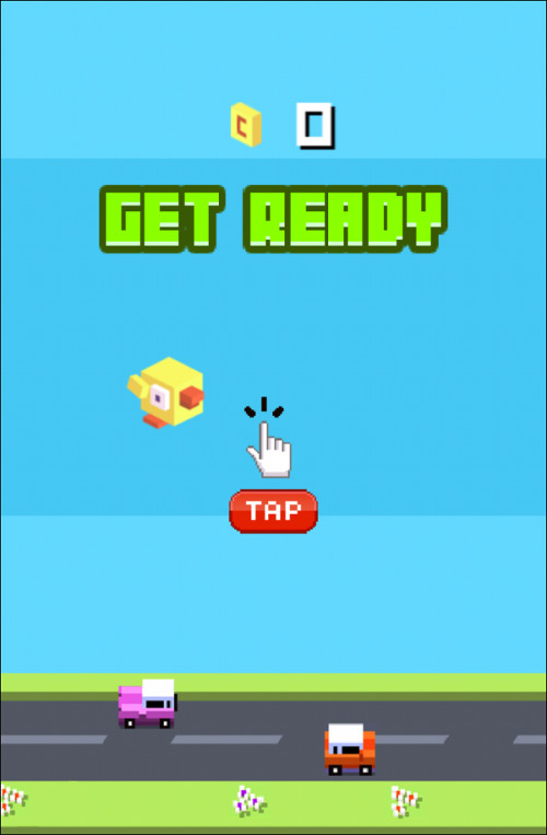 Immagine del gioco Crossy Bird Tappy per iPhone