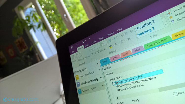 Come stampare in PDF su Windows 10