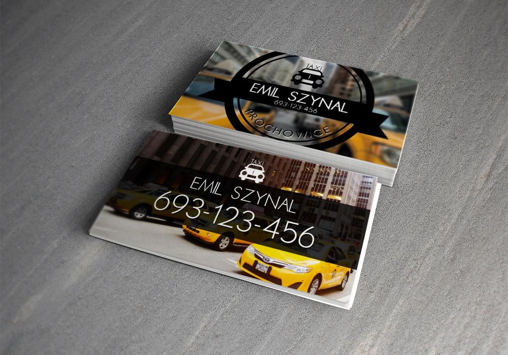 Immagine del biglietto da visita per autisti di taxi n.01