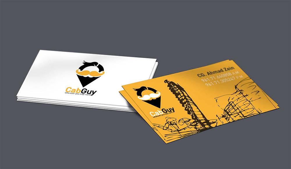 Immagine del biglietto da visita per autisti di taxi n.07