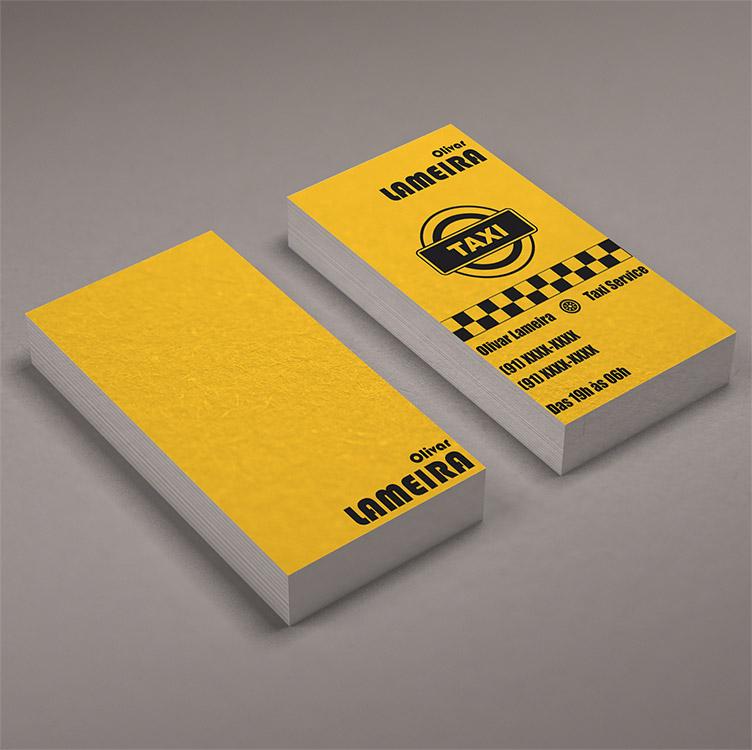 Immagine del biglietto da visita per autisti di taxi n.10