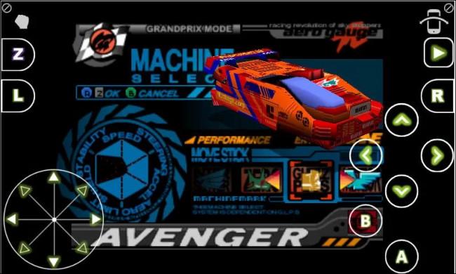 Esempi di utilizzo dell'emulatore ClassicBoy per Android