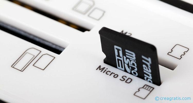 Recuperare foto su scheda SD danneggiata