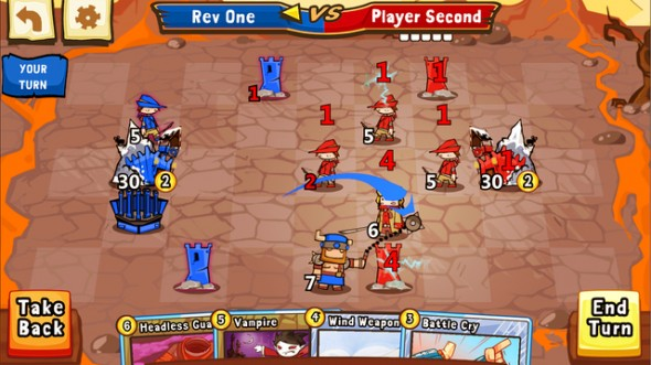 Immagine del gioco Cards and Castles per Android e iOS