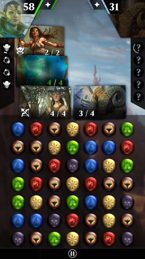 Immagine del gioco Magic: Puzzle Quest per Android e iOS