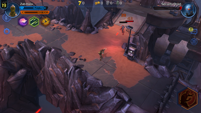 Immagine del gioco Star Wars: Uprising per Android e iOS