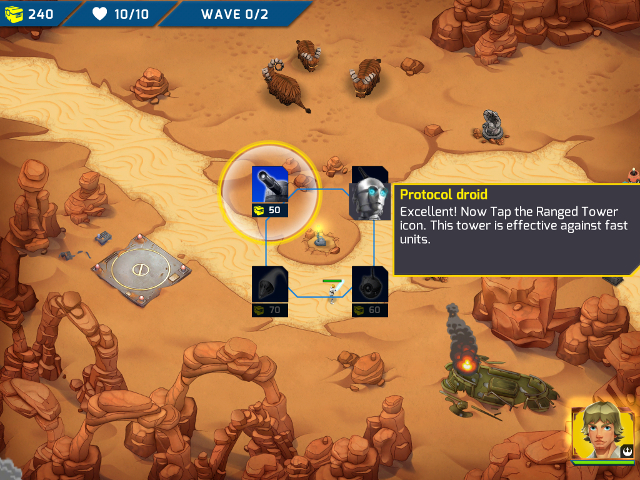 Immagine del gioco Star Wars: Galactic Defense per Android e iOS