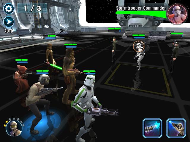 Immagine del gioco Star Wars: Galaxy of Heroes per Android e iOs