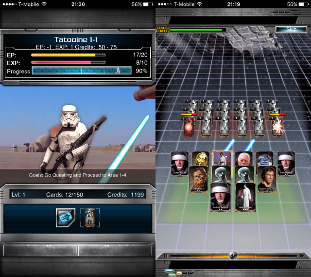 Immagine del gioco Star Wars: Force Collection per Android e iOS