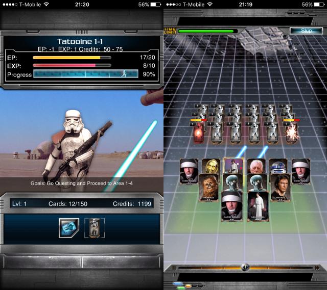 Immagine del gioco Star Wars: Force Collection per Android e iOS