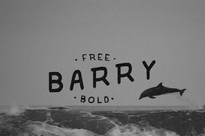 Anteprima del font Barry Typefast