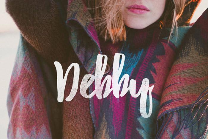 Anteprima del font Debby