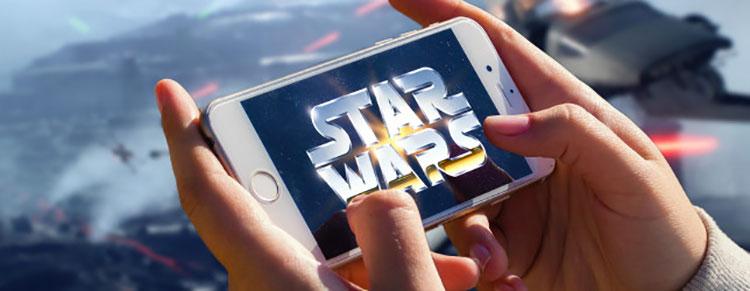 Giochi di Star Wars per Android e iOS