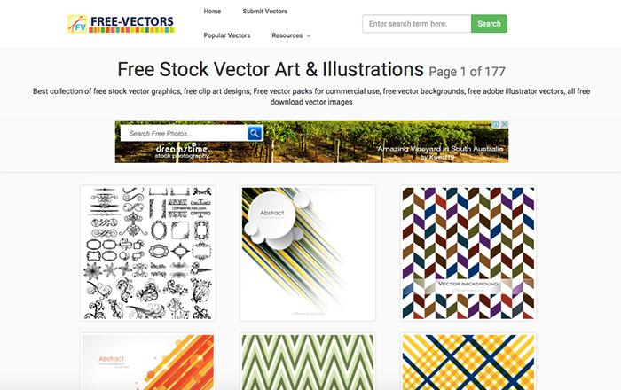 Immagine del sito Free-Vectors