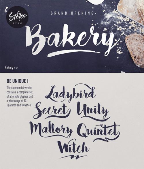 Esempio del font in stile scrittura a mano n.1