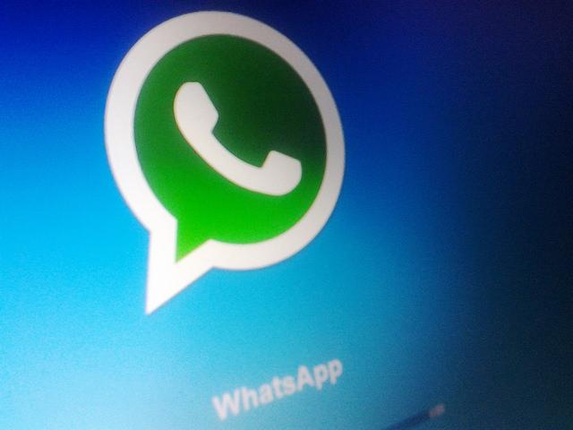 Immagine dell'app WhatsApp per iPhone