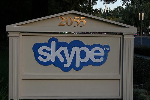 Immagine dell'app Skype per iPhone