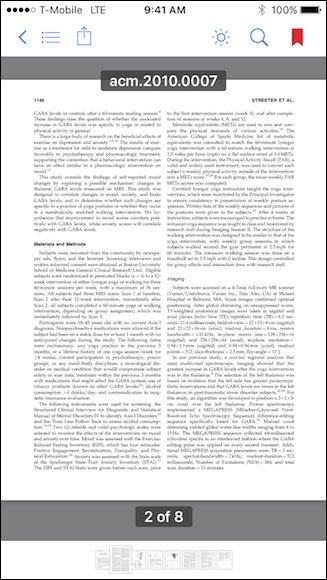 Gestire i preferiti dei PDF con iBooks
