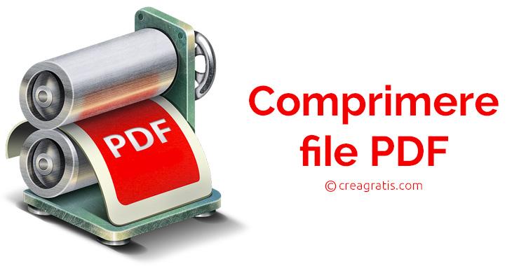Tre metodi per comprimere file PDF gratis