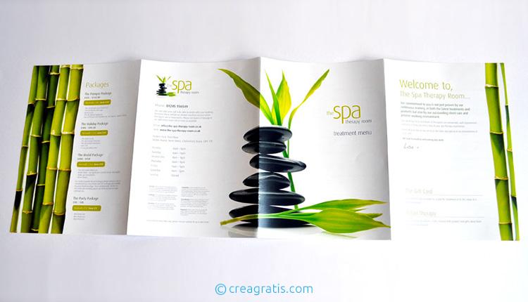 Modelli di brochure per SPA e centri benessere