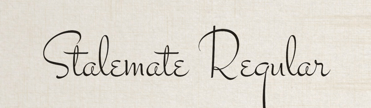 Immagine del font Stalemate