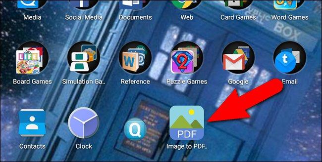 Immagine dell'icona dell'app Image to PDF Converter