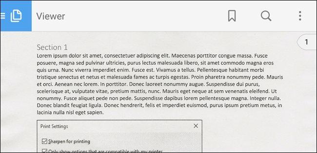 PDF aperto con Adobe Acrobat