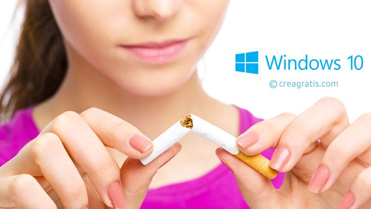 Le migliori app per smettere di fumare per Windows 10