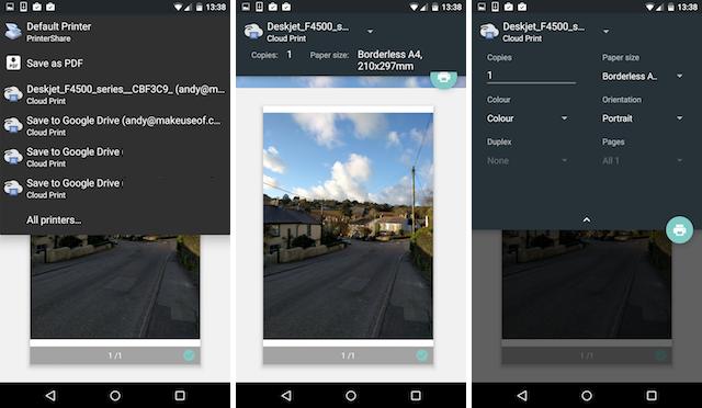 Impostare lo smartphone per stampare da Google Cloud Print