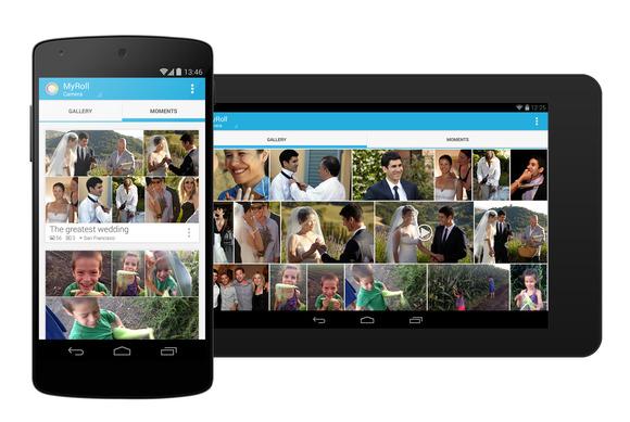 Gestire foto su Android e iOS con MyRoll
