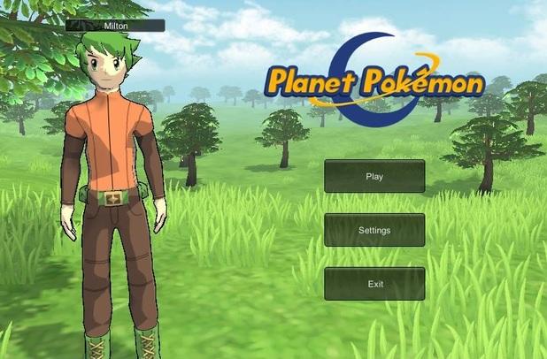 Immagine del gioco Planet Pokemon