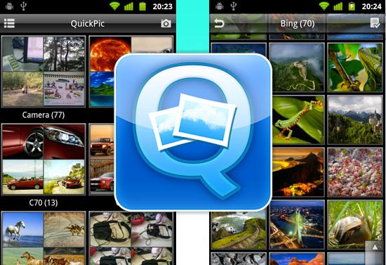 Gestire foto su Android e iOS con QuickPic