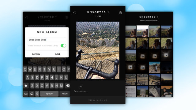 Gestire foto su Android e iOS con Slidebox