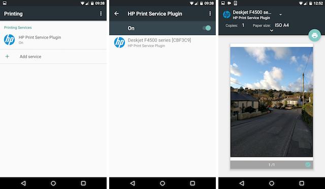 Stampare da smartphone e android - impostazioni