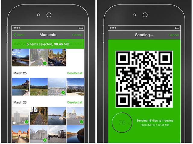 Trasferire file tra dispositivi Android con BitTorrent Shoot