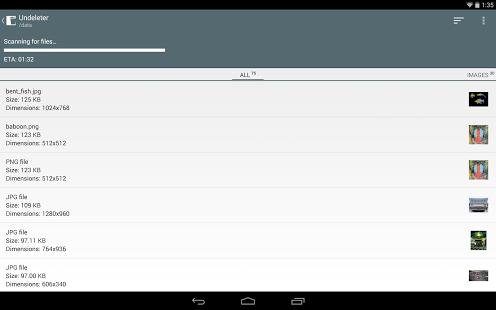 Come Recuperare File Cancellati su Android con Undeleter