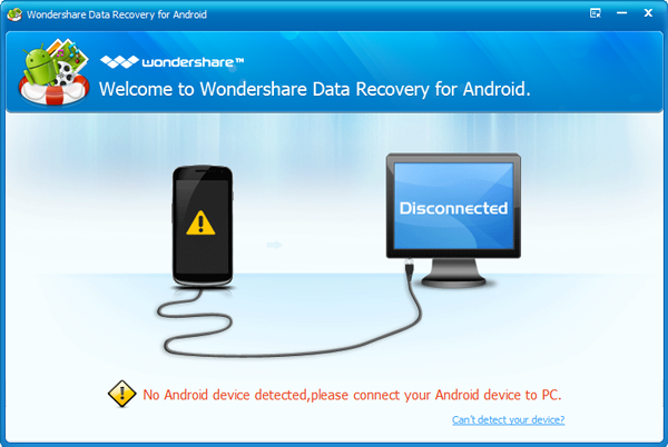 Come Recuperare File Cancellati su Android con Wondershare