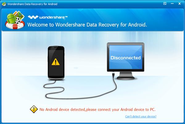 Come Recuperare File Cancellati su Android con Wondershare