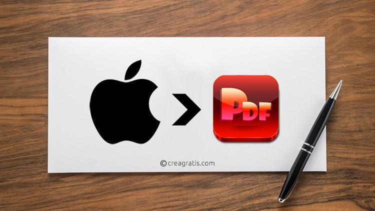 Come creare PDF su Mac