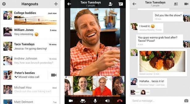 Effettuare videochiamate su Android e iOS con Google Hangouts