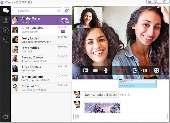 Effettuare videochiamate su Android e iOS con Viber