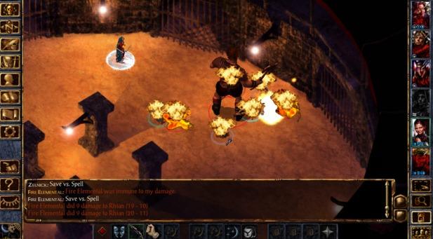 I Migliori 15 Giochi RPG per Android - Baldur's Gate