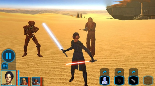I Migliori 15 Giochi RPG per Android - Star Wars