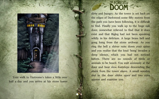 I Migliori 15 Giochi RPG per Android - The Forest of Doom