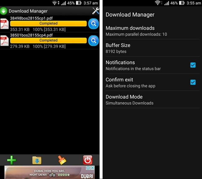 I migliori download manager per Android - Download Manager